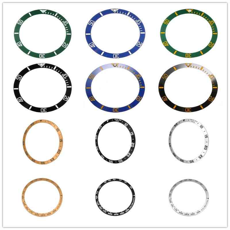 Ceramic Bezel Insert For Seiko Dial Prospex Watch Face Replace Accessorie Colorful Ring