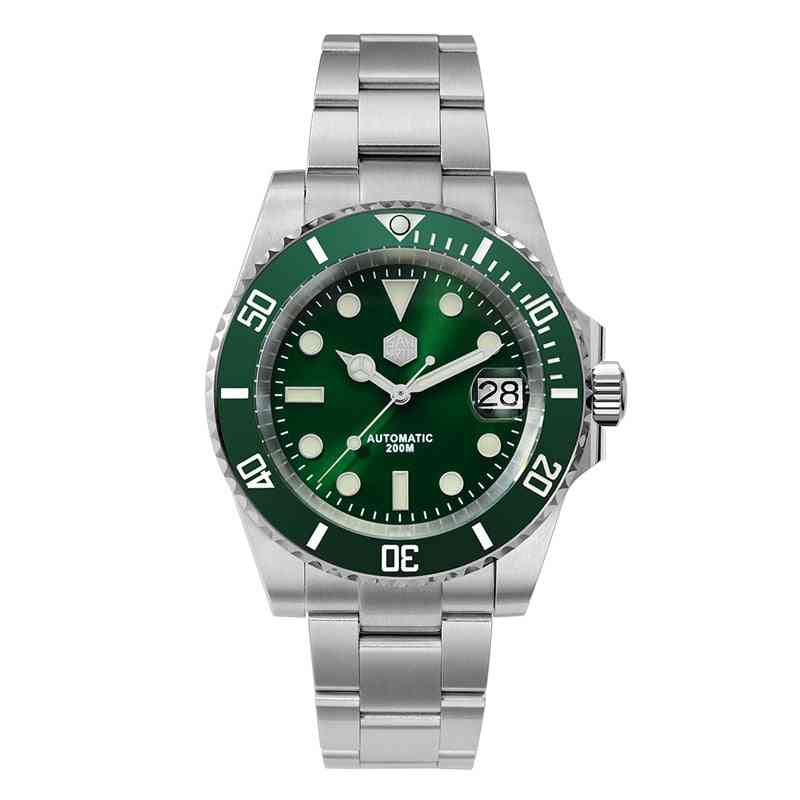 San Martin Diver Water Ghost Luxury Sapphire Crystal Men Automatic Mechanical Watches