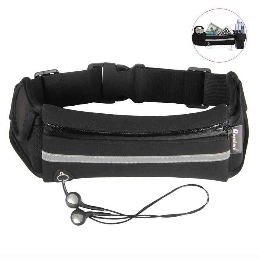 Running Fitness Fanny Packs Phone Holder, Sports Camping & Hiking Belt Water Bottle Bag