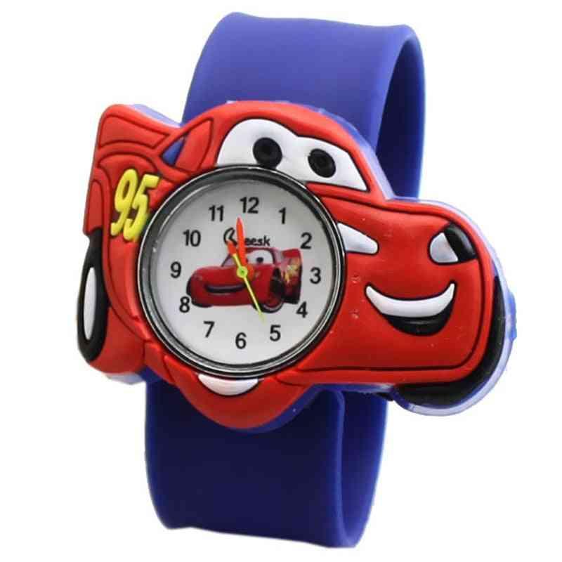Children Watch, Boy Cartoon Car Clock