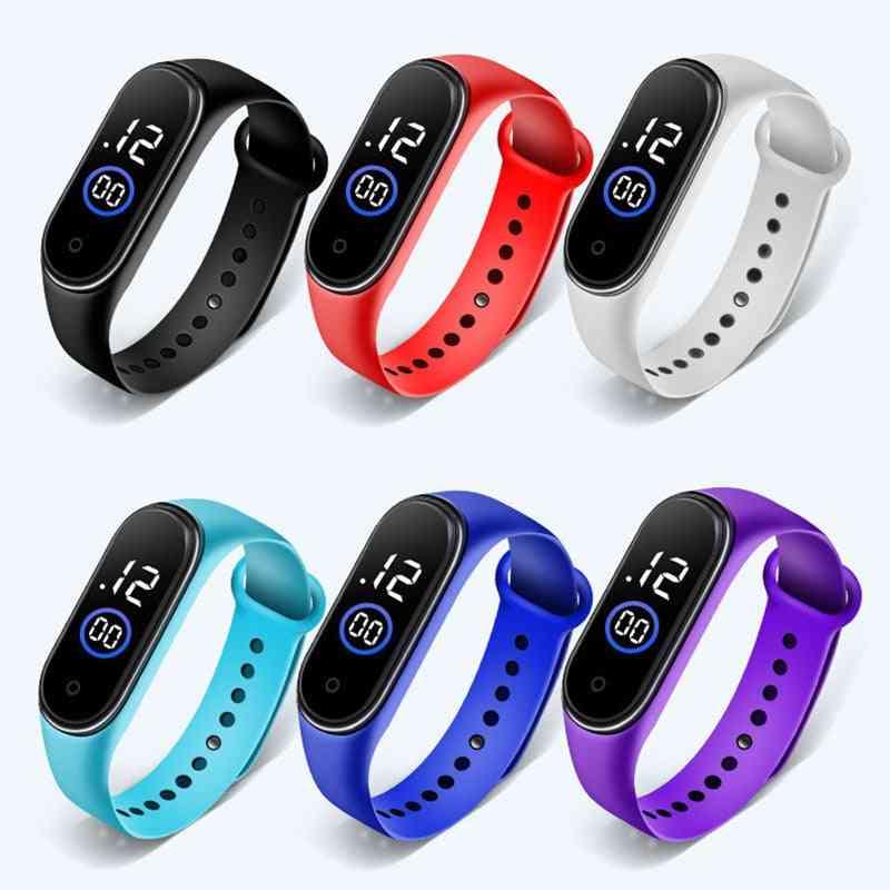 Waterproof Digital Led Quartz Alarm Date Sports Wrist Watch