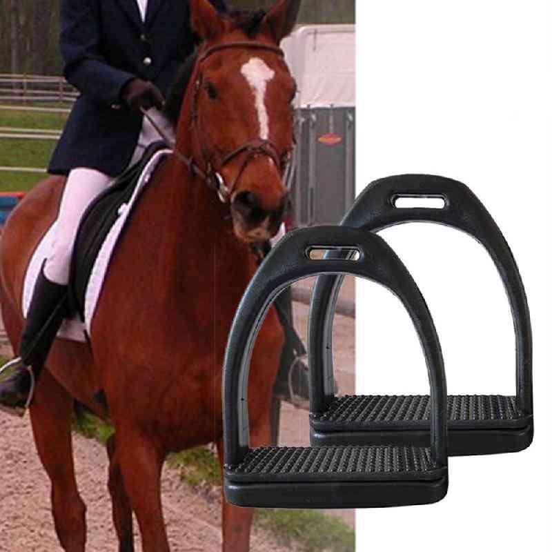 Durable Horse Riding Stirrups Lightweight Wide Track Anti Slip