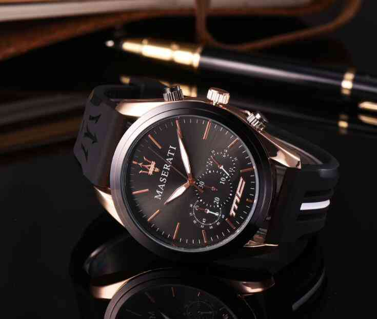 Fashion Quartz Military Sports Watch, Week Display Wrist Watches