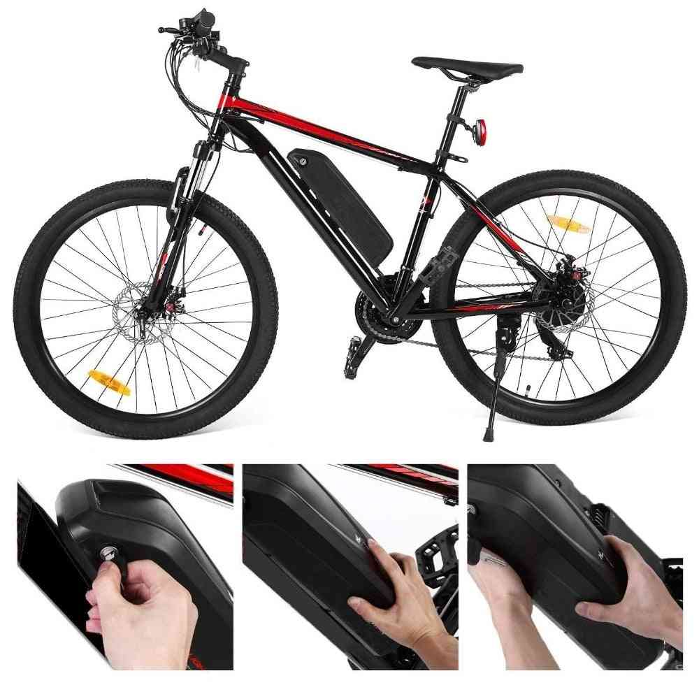 Electric Bike Battery Pack Built In Samsung Cells Front Rear Hub / Mid Drive Bicycle Motor Kit