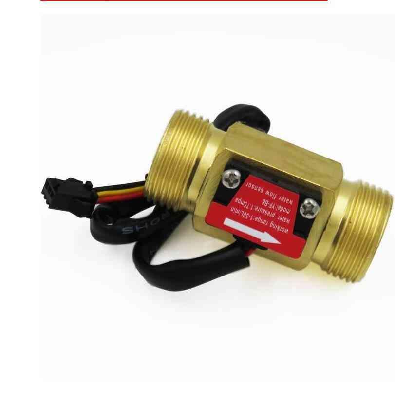Water Flow Hall Sensor Switch, Meter For Industrial Control Liquid Circulating