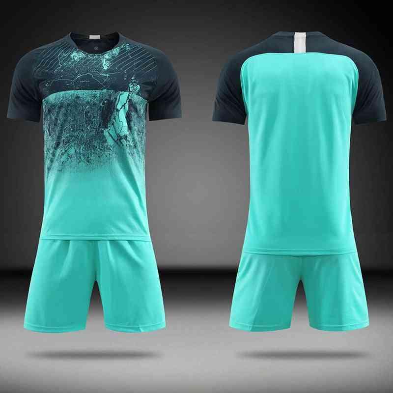 Blank Adult/kids Soccer-jersey Training Kit