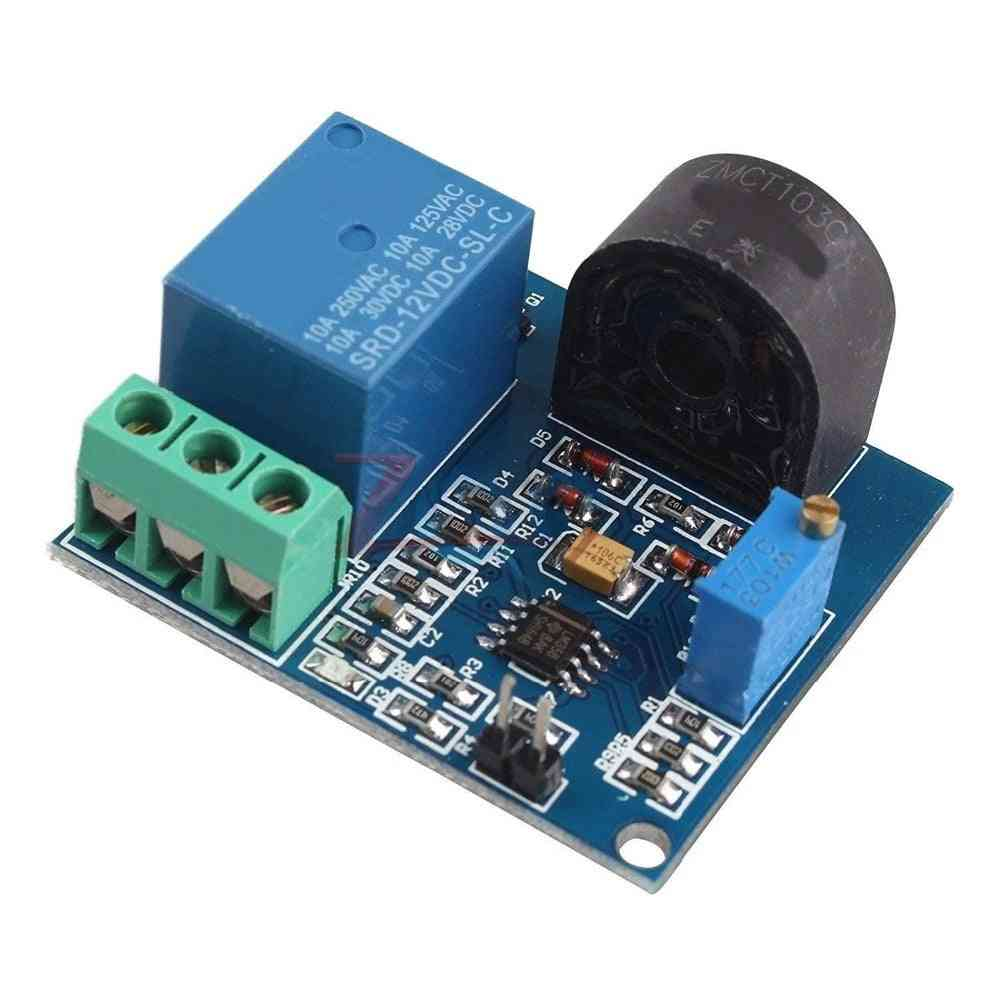 Ac Current Detection Sensor Module, Relay Protection, Over-current Switch Output