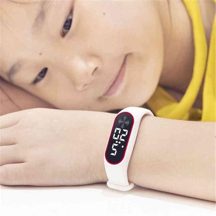 Children Sport Electronic Wristwatch Led Digital Clock