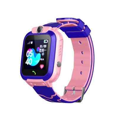 Touch Screen Camera, Professional Sos Call, Gps Positioning, Waterproof Smart Kids Smart Watch