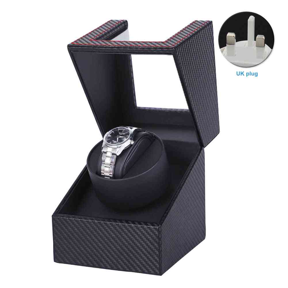 Portable Home 4 Rotation Modes Single Watch Winder With Quiet Motor