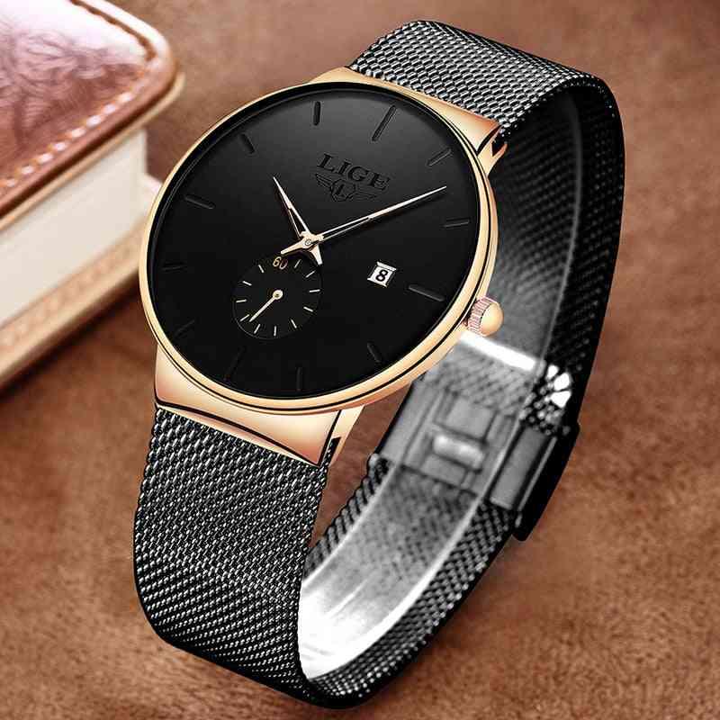 Fashion Watches Casual Waterproof Quartz Clock