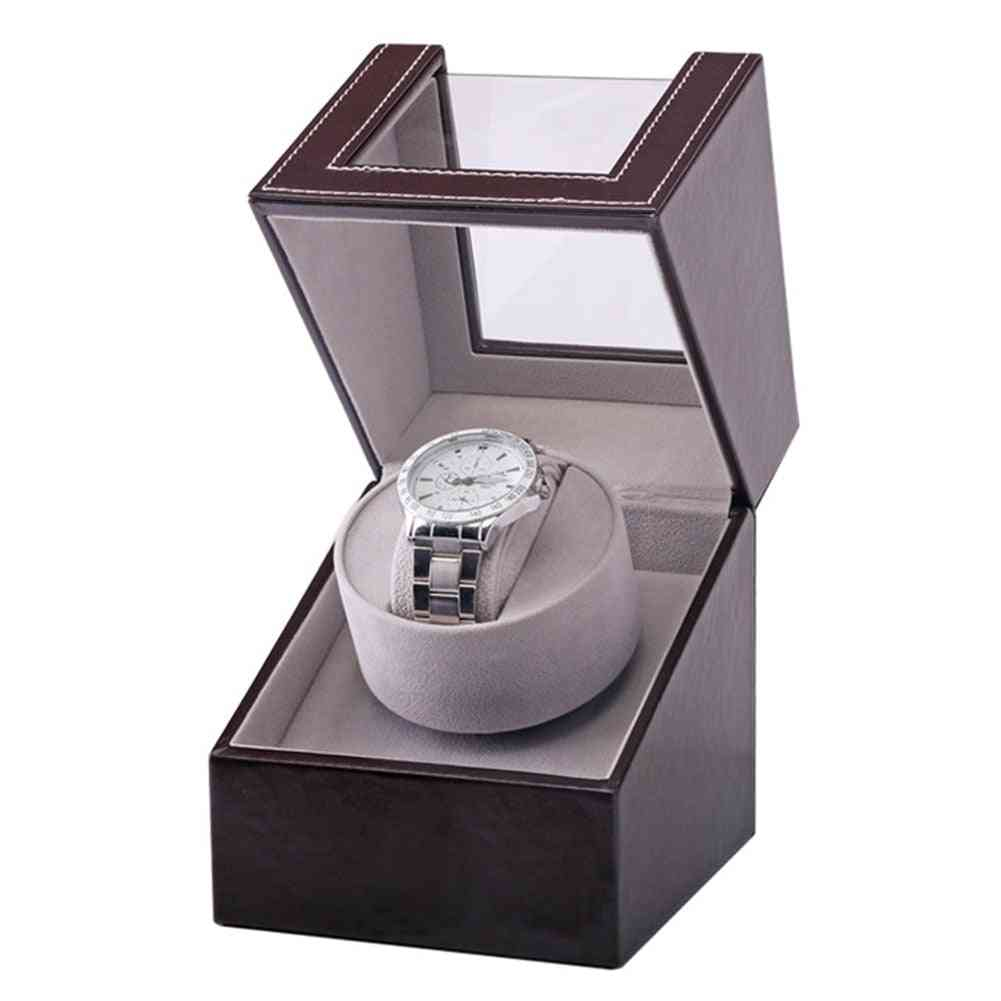 Collection Watch Winder Transparent Cover, Automatic Mechanical Luxury Display Box