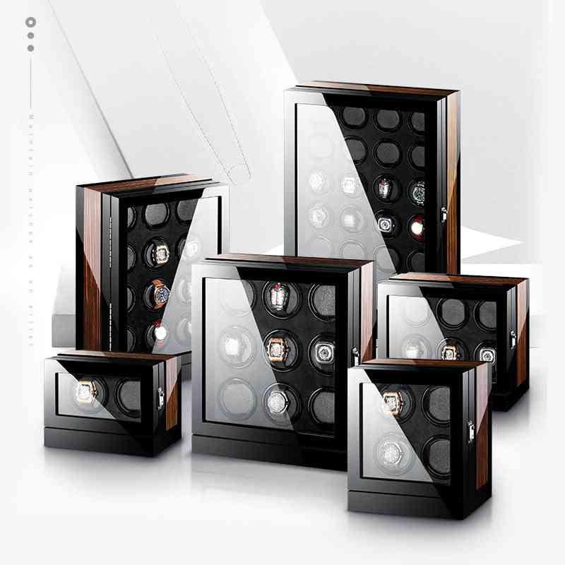Mechanical Automatic Winding Watch Box, Display Organizer
