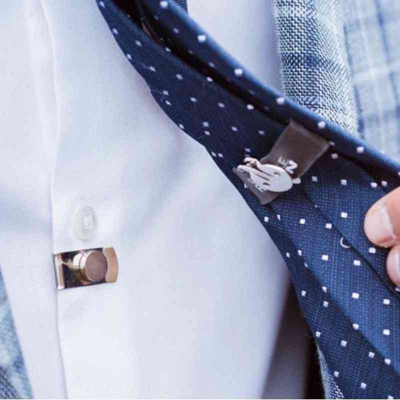 The Hidden Tie Fixed, Invisible Stainless Steel Clip