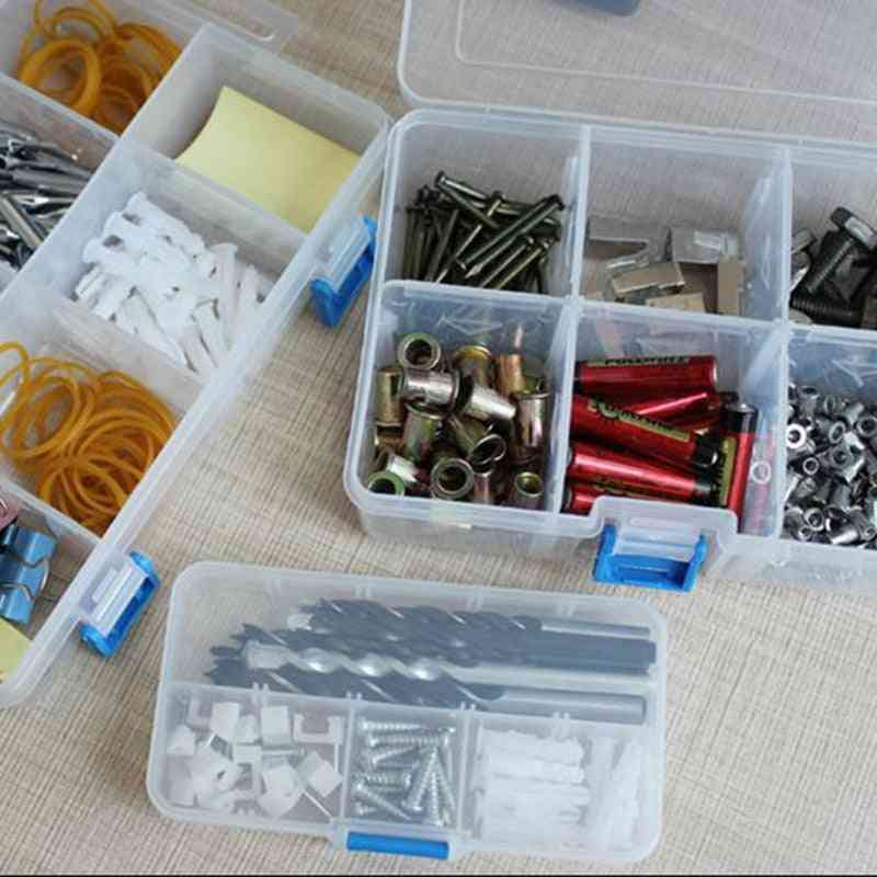 Portable Tool Box, Electronic Drill Screw Storage Toolkit