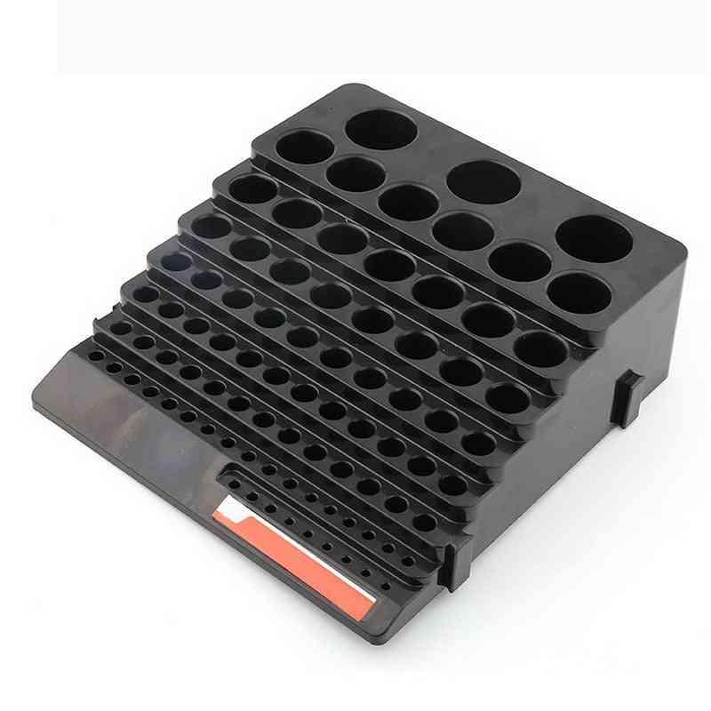 Portable Multifunctional Milling Cutter Reamer Drill Bit Storage Box Tool
