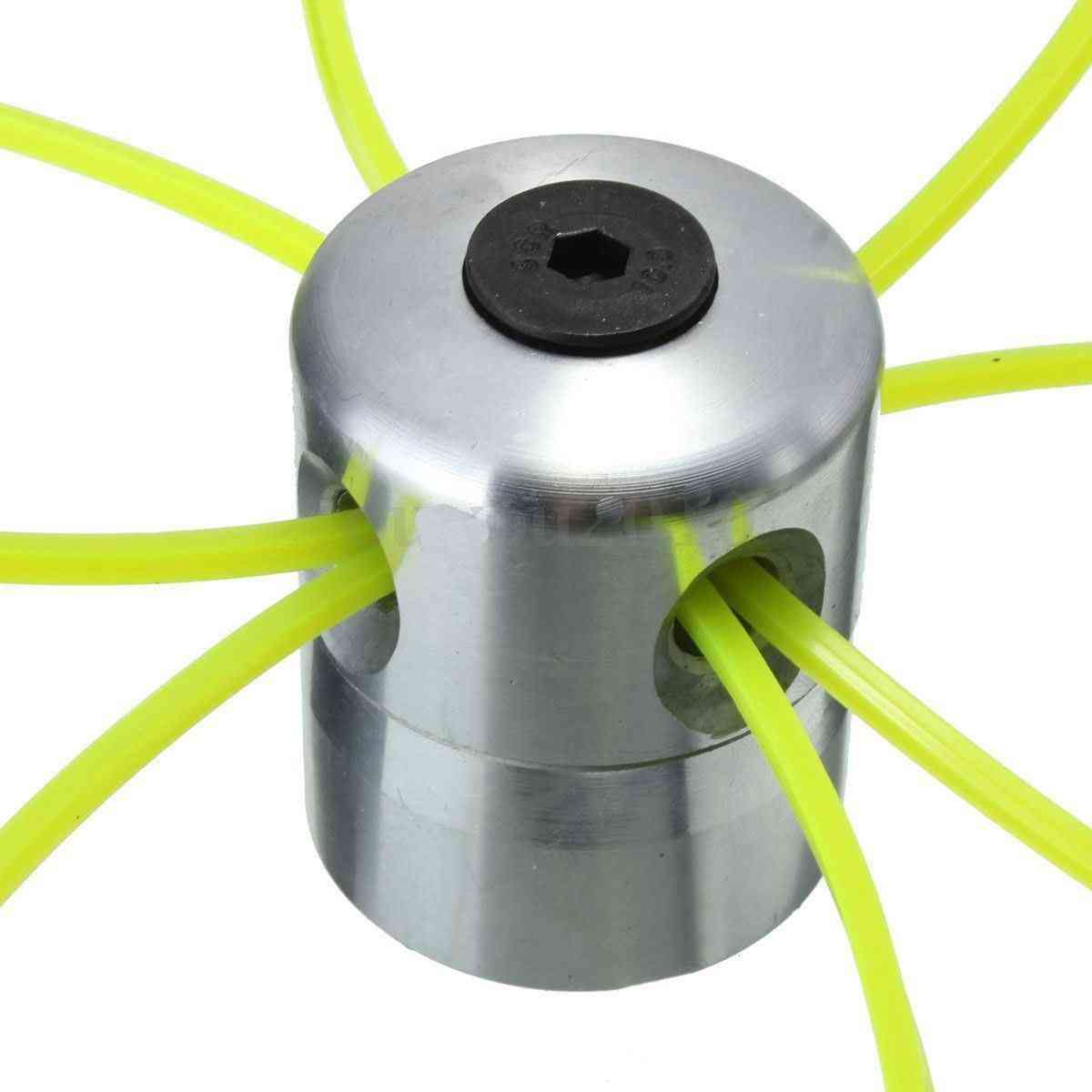 Newest Aluminum Grass Trimmer Head With 4 Lines Brush