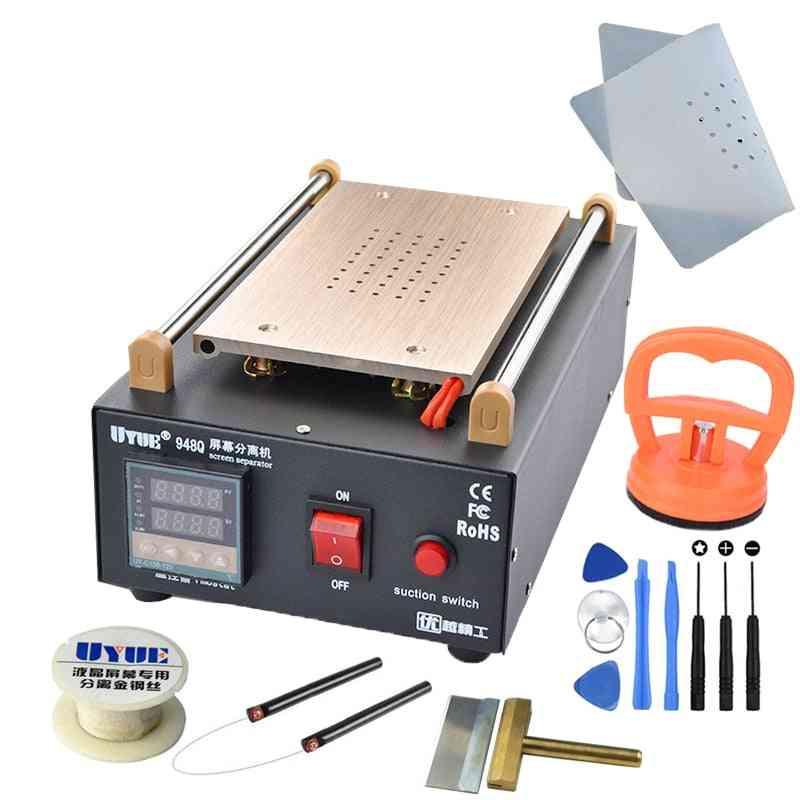 Built-in Pump Vacuum Metal Body Glass Lcd Screen Separator Machine