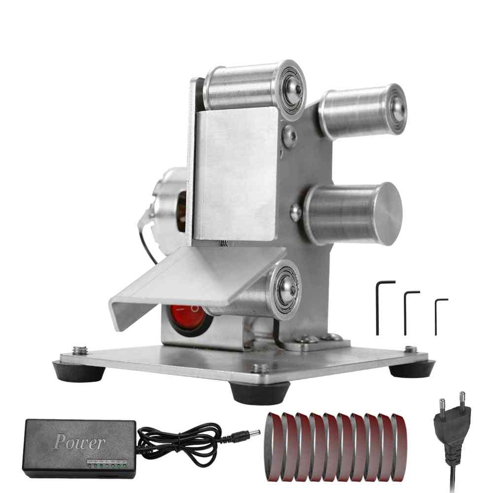 Multifunctional Professional Grinder, Electric Belt Sander Diy Polishing Grinding Machine