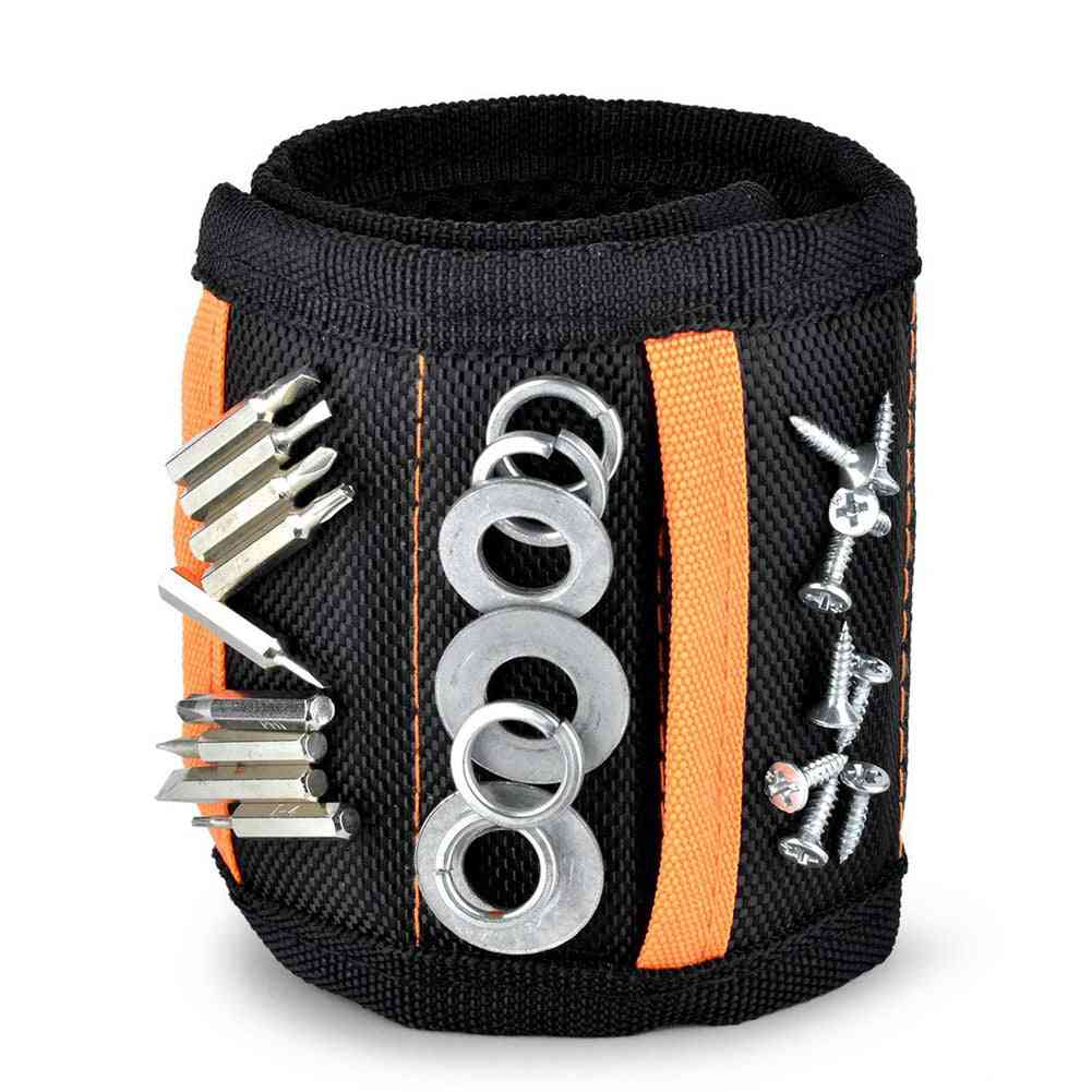 Magnetic Wristband, Strong Portable Bag - Screws, Drill Holder