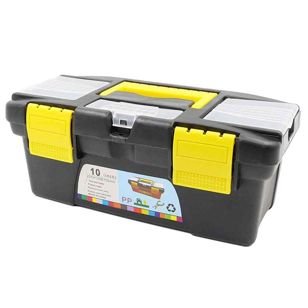 10 Inch Multifunctional Instrument Parts Hardware Tool Storage Box