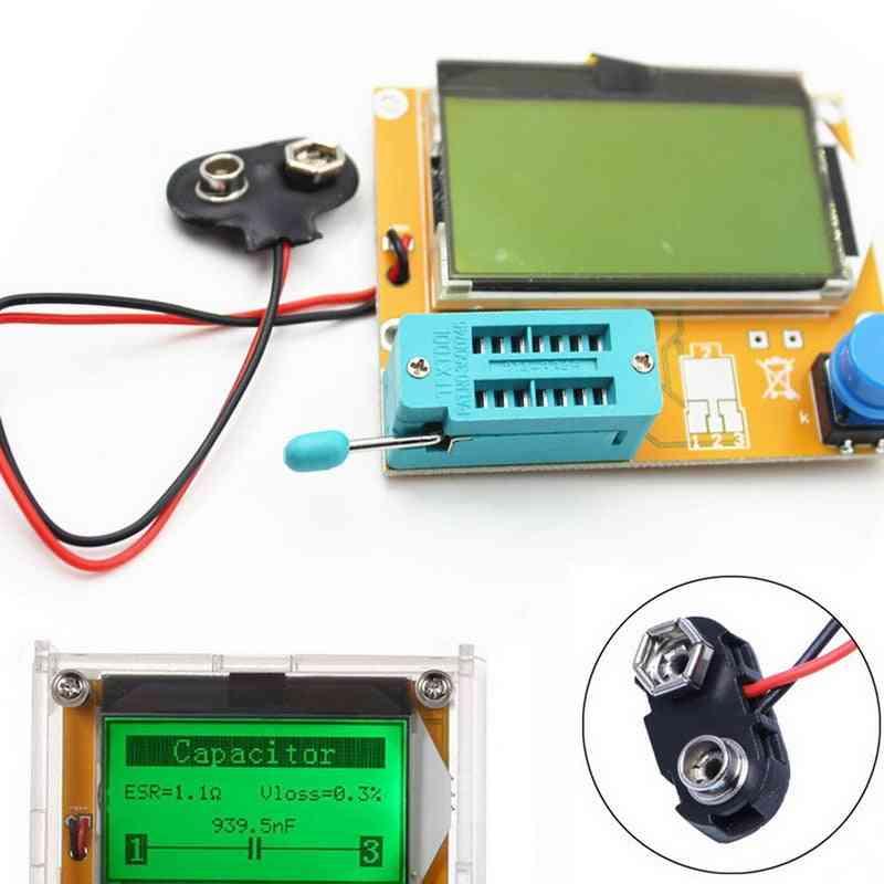 Meter Mega Transistor Digital Diode Triode Capacitance, Lcd Screen Tester