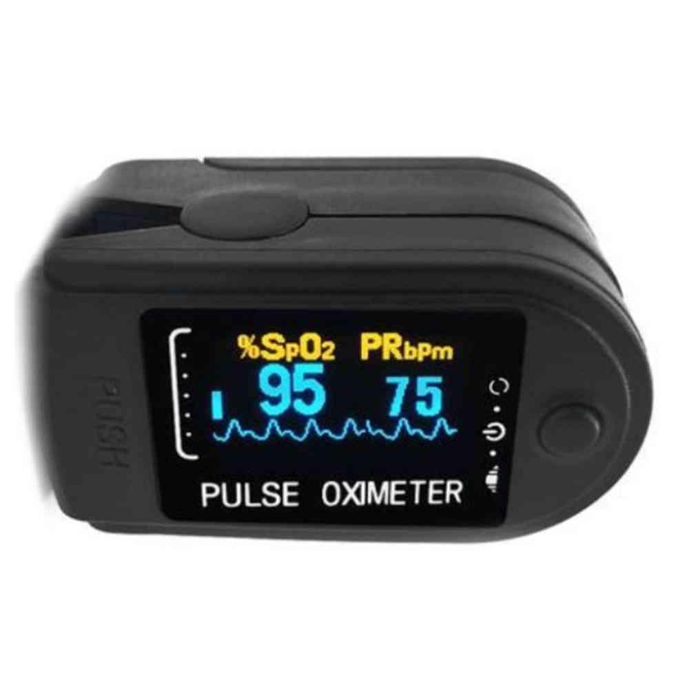 Led Display Fingertip Pulse Oximeter