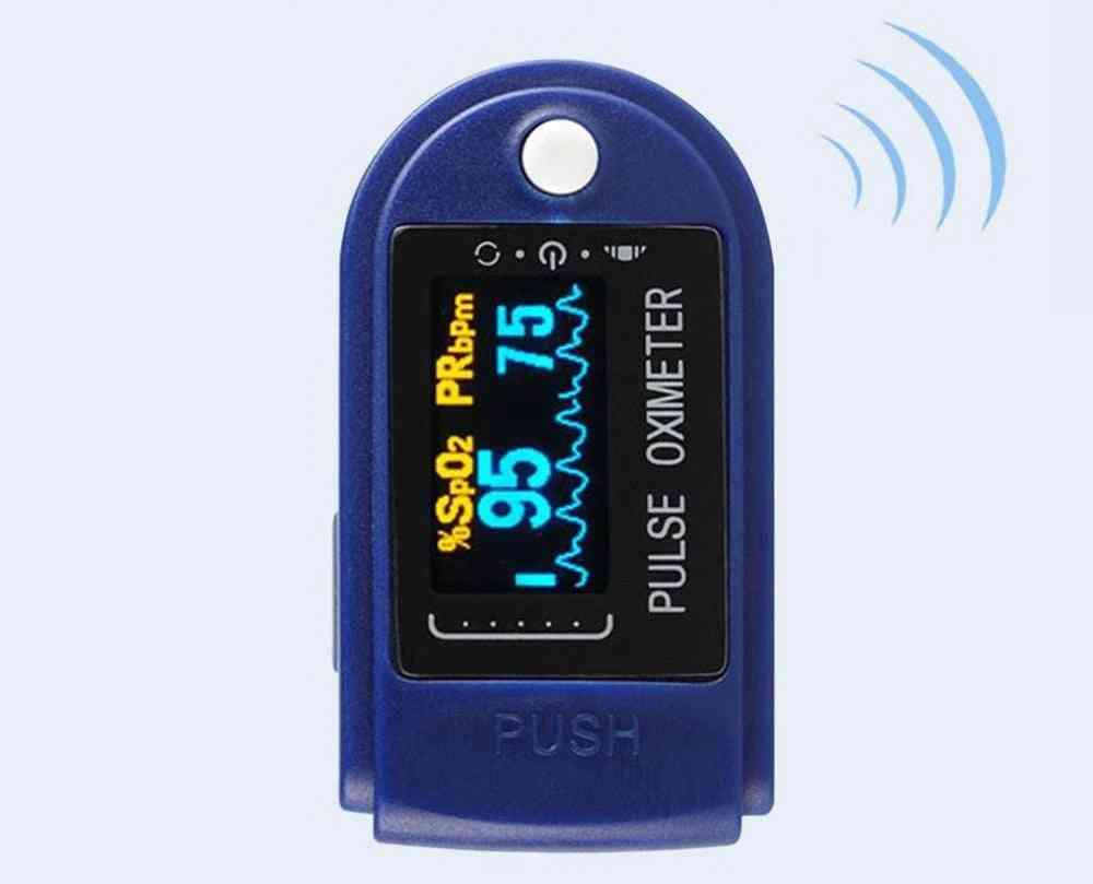 Portable Multification Digital Finger Oximeter, Blood Oxygen Heart Rate, Pr Pulse Oled Fingertip