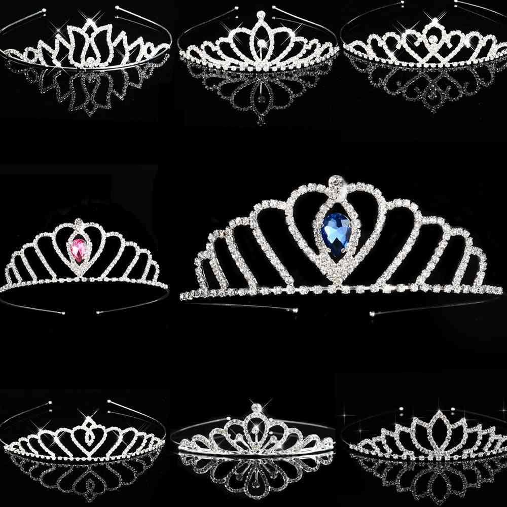 Princess Tiaras-crowns, Headband, Bridal Prom Bride, Party Accessories Hair Jewelry