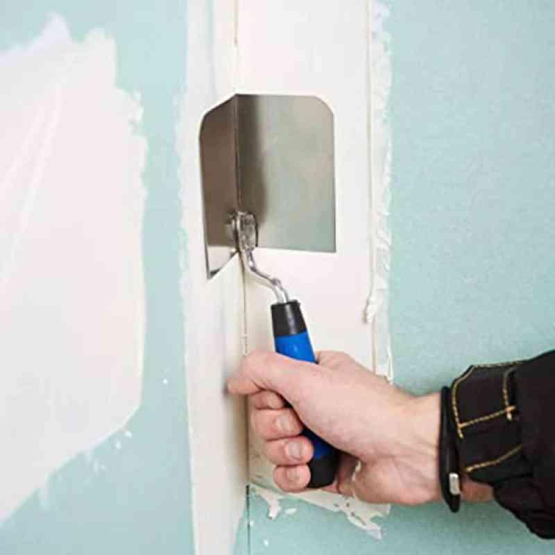 Corner Eraser Trowel Drywall Tool Flexes For Perfect Degree Ergonomic Grip