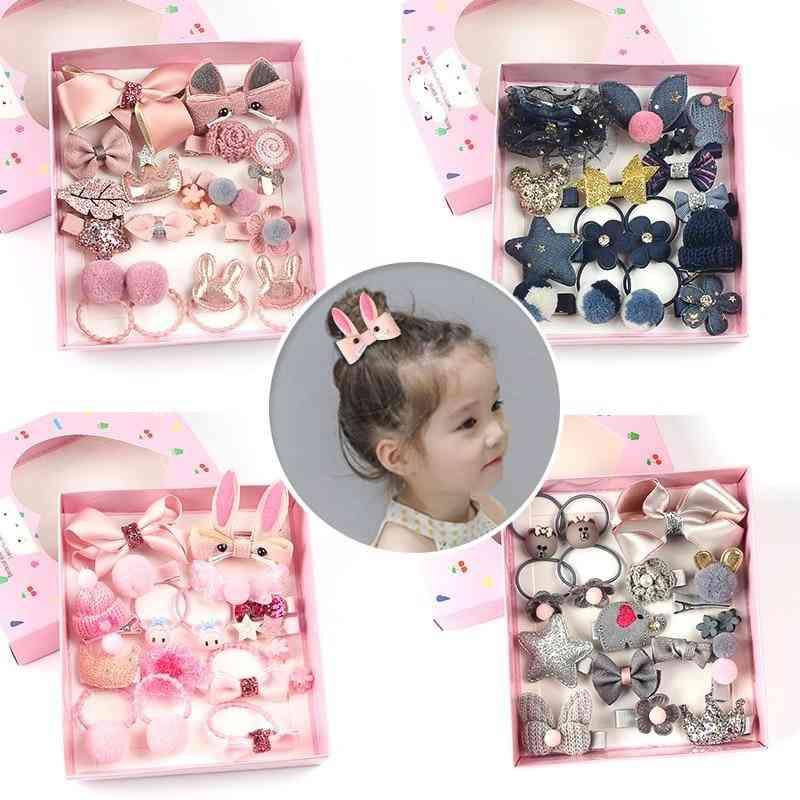 Cute Hair Clips-girls Bow, , Baby Elasticity Hair Ring, Headband Jewelry