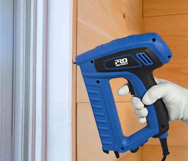 Portable Eletric Nail Gun - Wooden Door Stapler