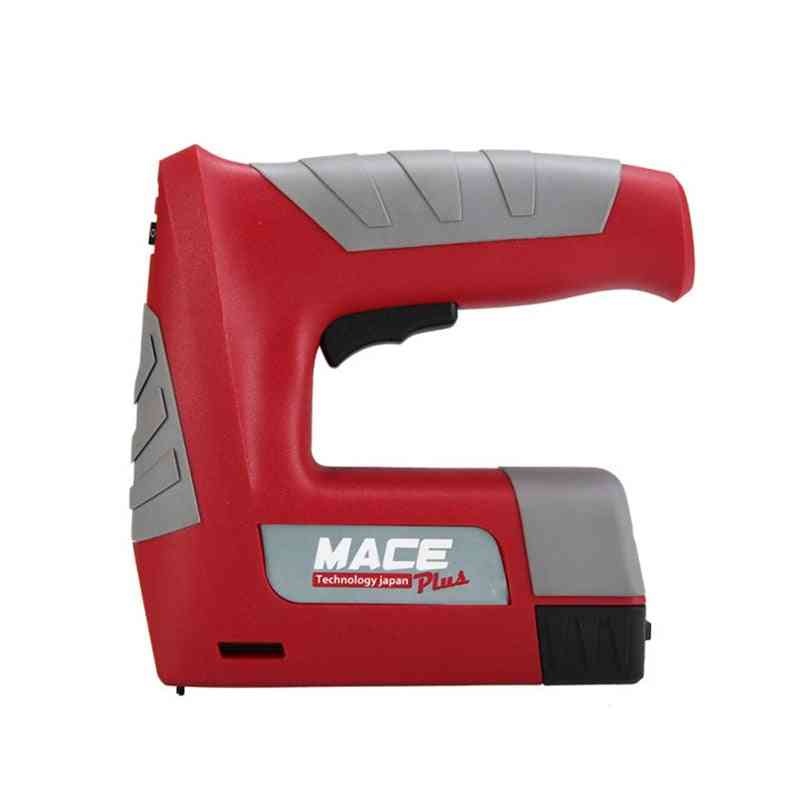 Usb Stapler Rechargeable, Lithium Battery Cordless, Electric Nail Gun Tools