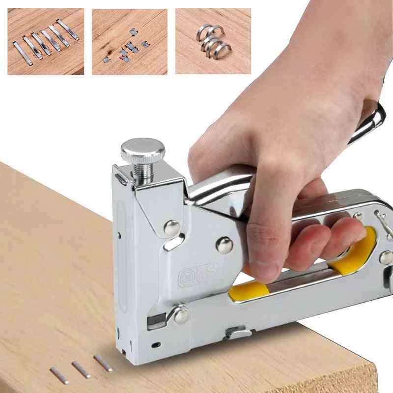 Nail Furniture Stapler Tools For Furniture, Wood Door Upholstery Framing  Rivet