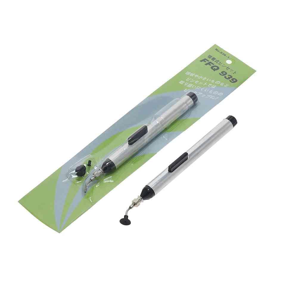 Ffq-939 Header Vacuum Suction Pen, Alternative Tweezers Pick Up Tools  (silver)