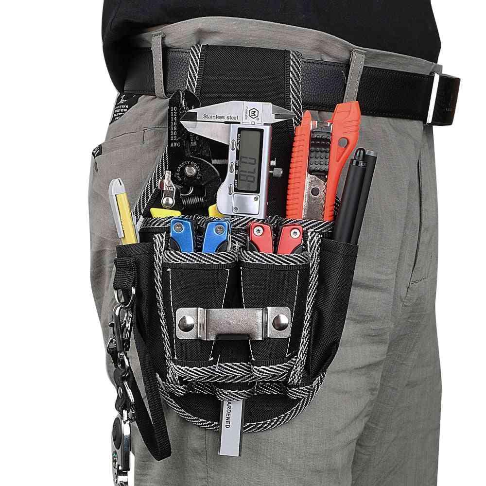 Drill Hammer Storage Waist Pocket Tool Belt Pouch