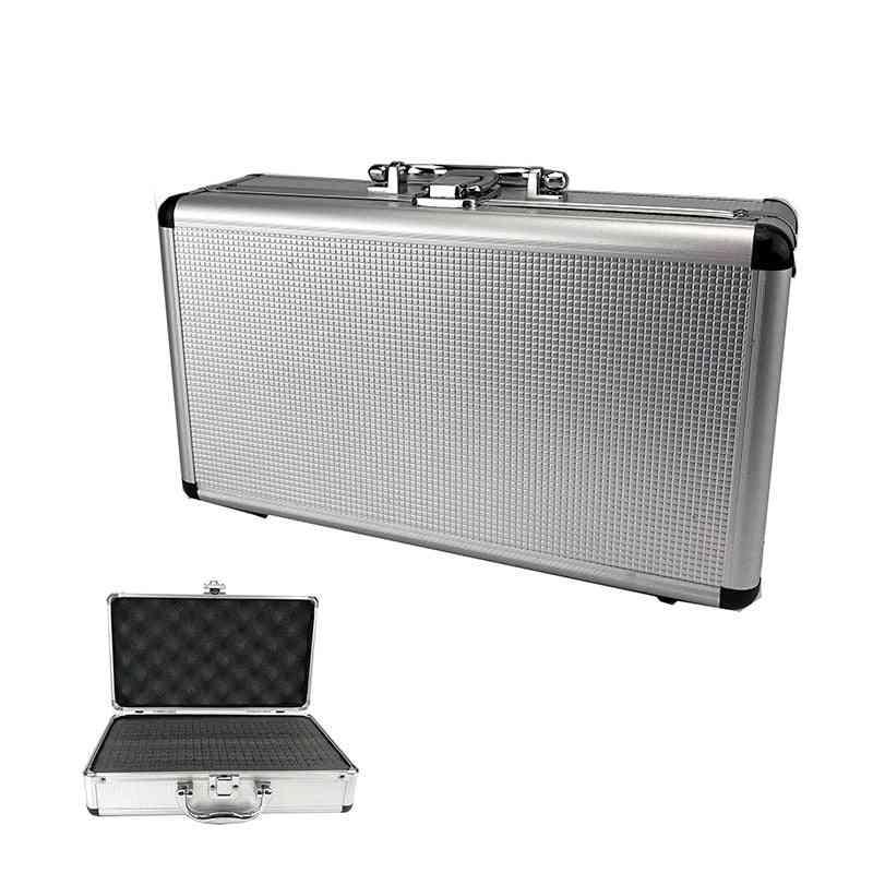 Aluminum Portable Instrument Box, Storage Case, Suitcase