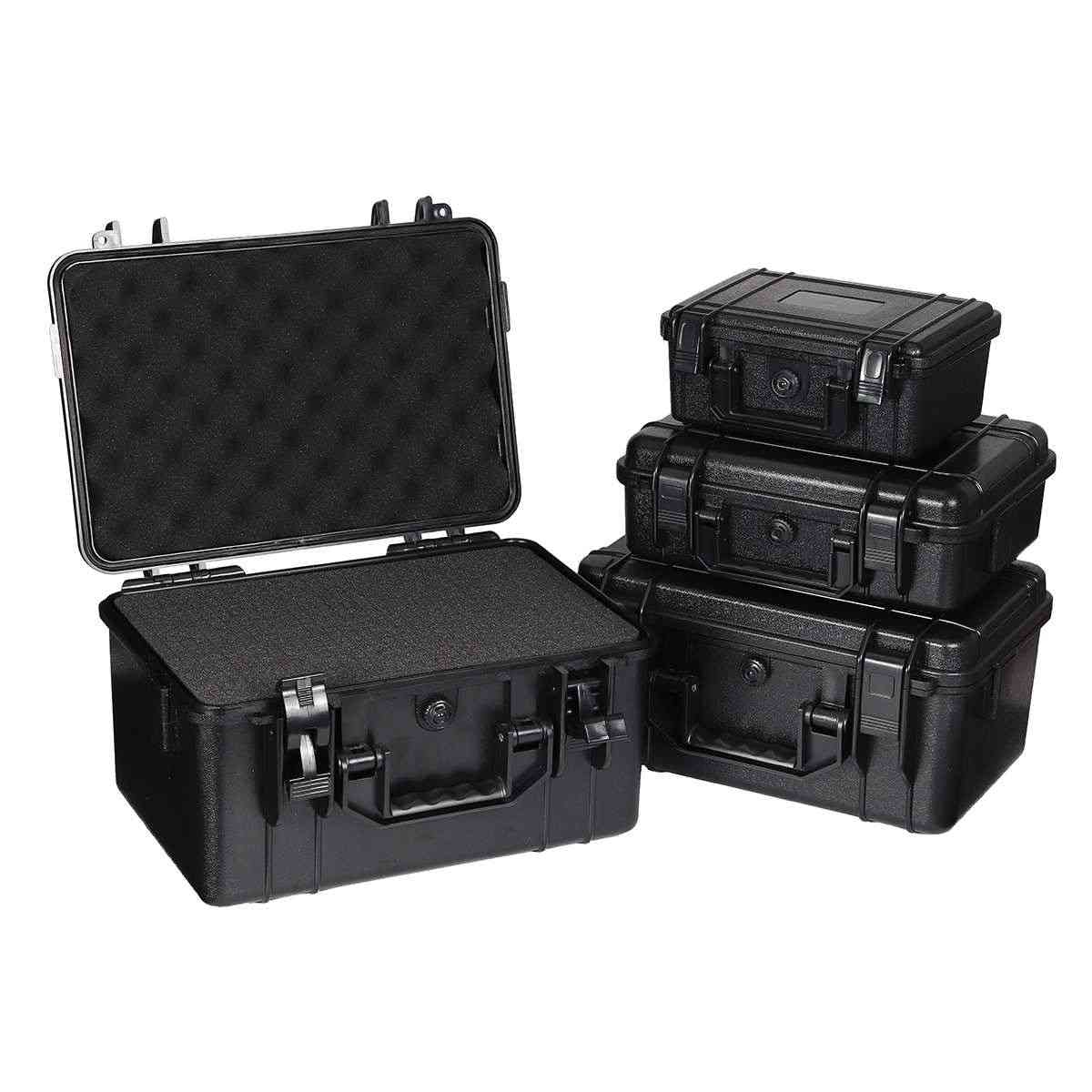 Waterproof Safety Abs Plastic Tool Box - Outdoor Tactical Equipment Storage Container