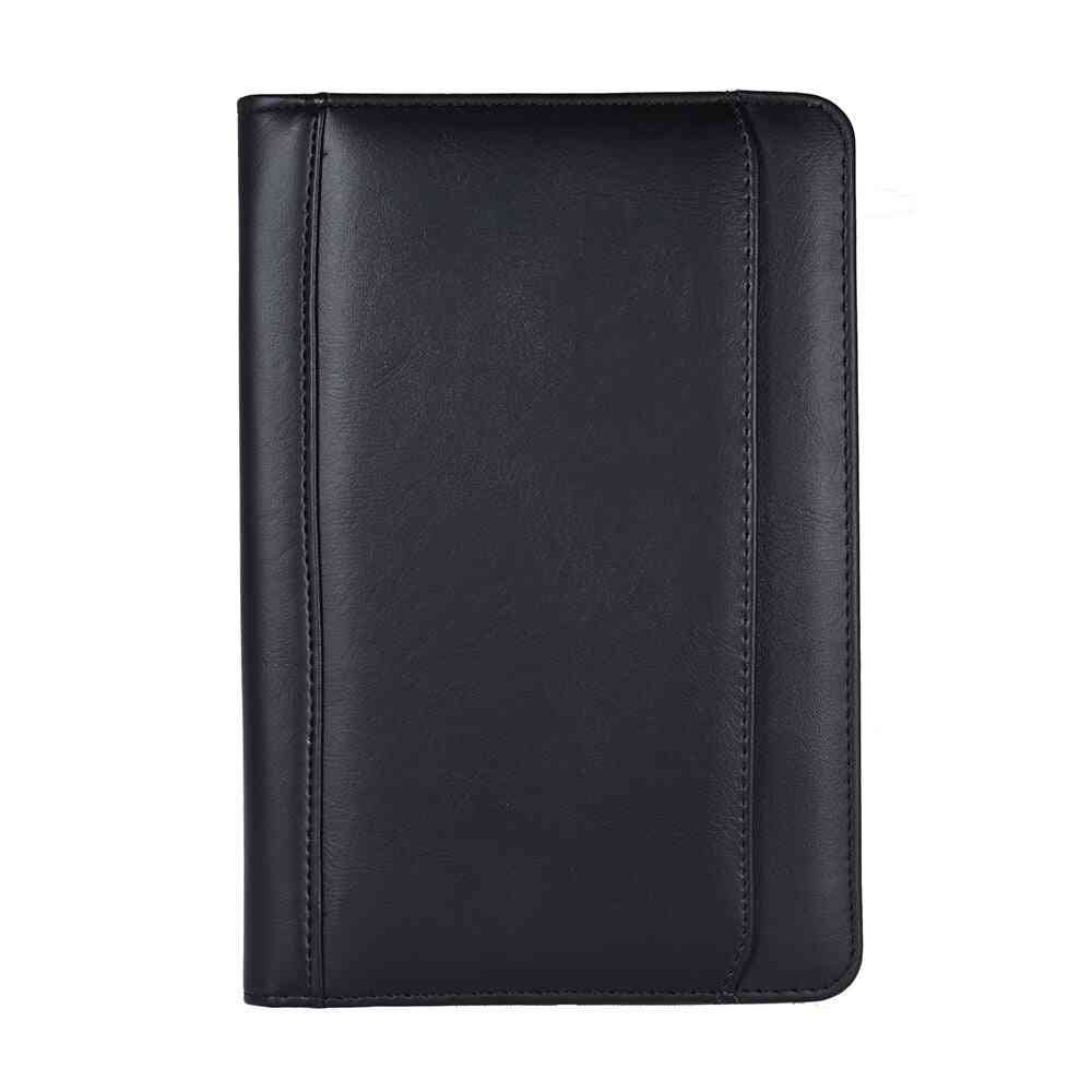Document Case Organizer With Business Card Holder