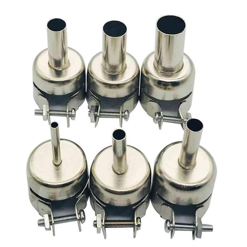 Universal Metal Heat Gun Resisting Nozzles