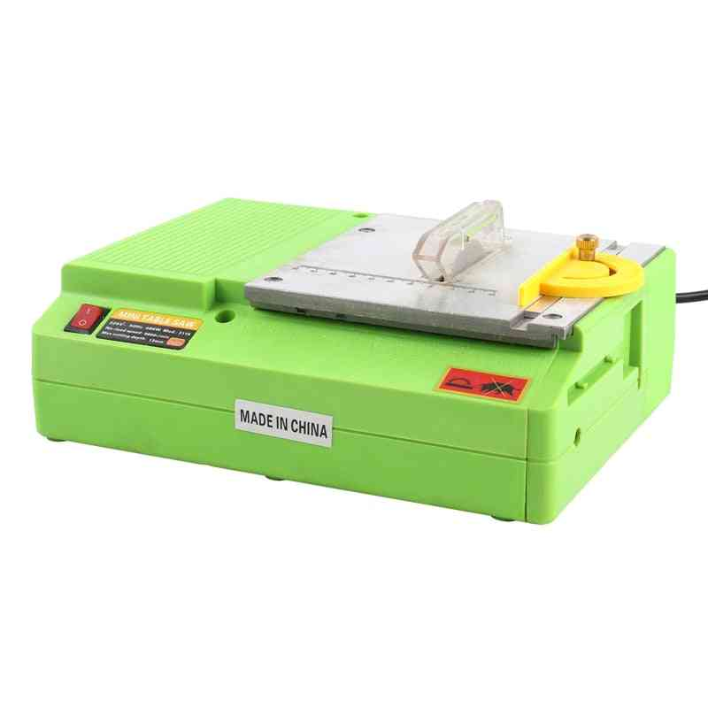Mini Table Saw Handmade Woodworking Bench Lathe Electric Polisher Grinder