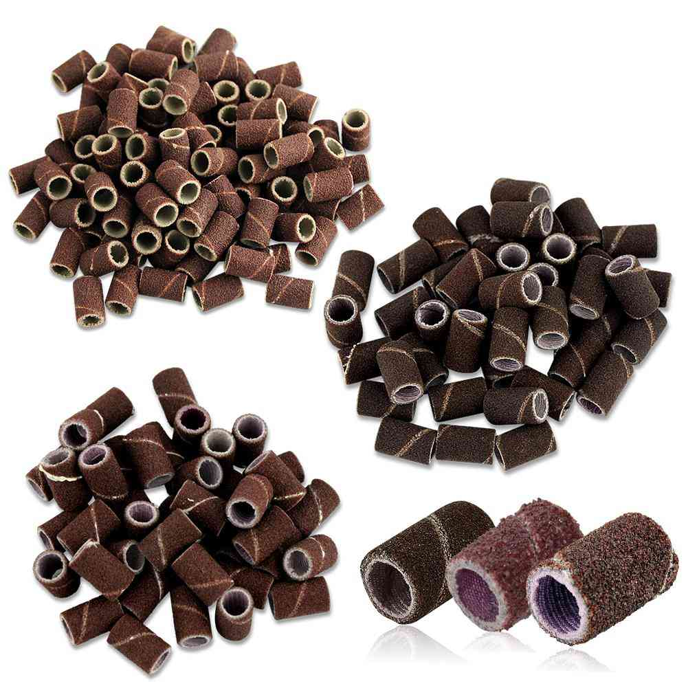 Cylindrical Shape, Sanding Bands For Nail Drill Manicure Tools