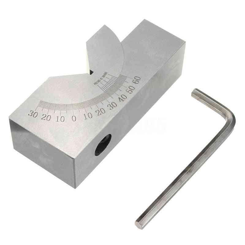 Mini Adjustable Angle V Block Milling 0-degree To 60-degree