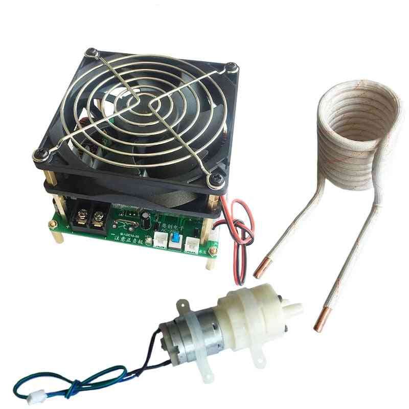 Heating Machine Without Taps Zvs With Short Circuit Protection Pump & Coil