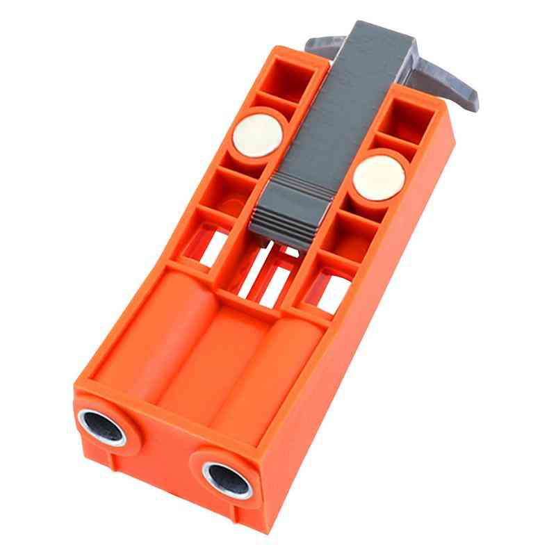 Adjustable, Pocket Hole - Jig Woodworking Drill Tool