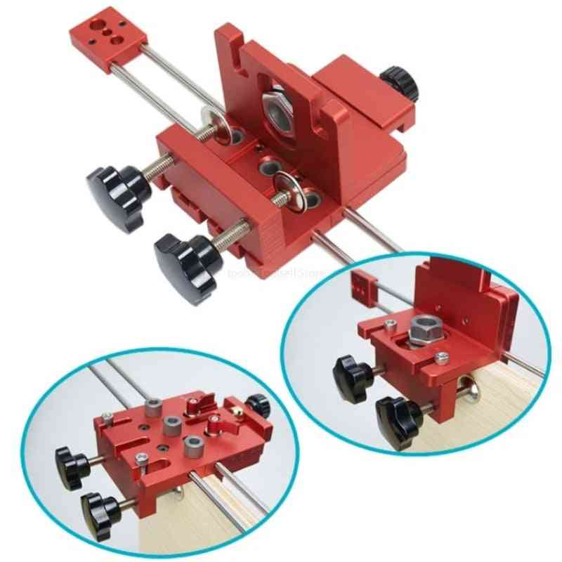 Woodworking Self Centering Jig Guide Locator Kit, Furniture Fast Connecting Cam Fitting
