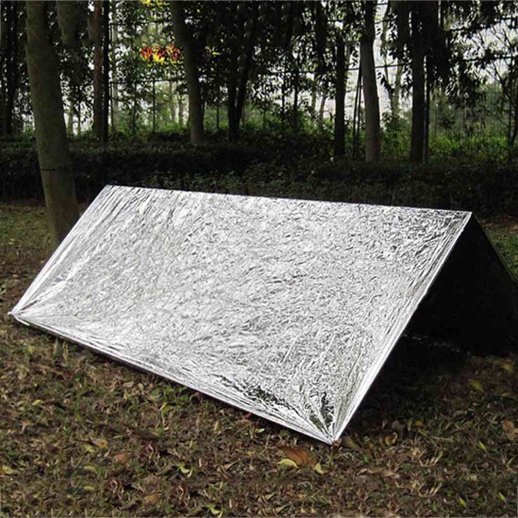Cold-proof Military First Aid Emergency Blanket Survival Rescue Curtain