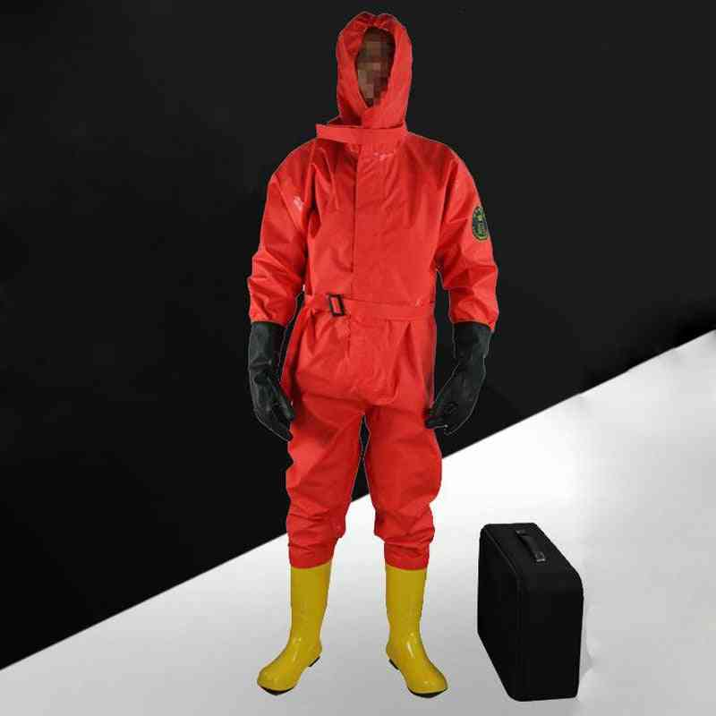 Simple Flood Control Light Protect Clothing Semi-closed Chemical Protective