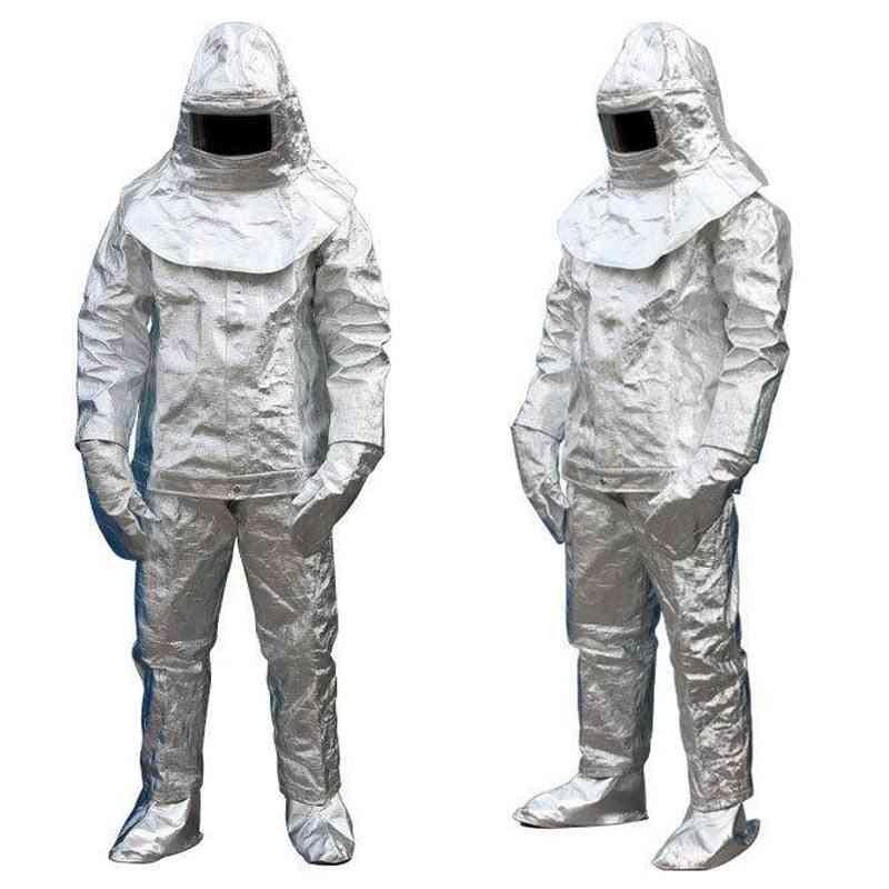 Fire Insulation Suite 500 °c Hightemperature Anti-scalding Radiation Protective Fire-proof Suit