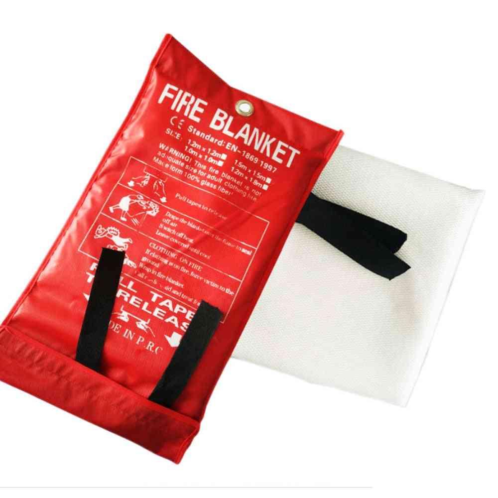 Flame Retardant Emergency Survival Fire Blanket Fiberglass